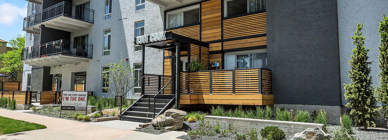 Apartment Building Exterior Remodels