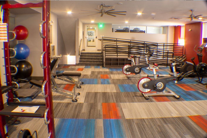 Multifamily Fitness Room
